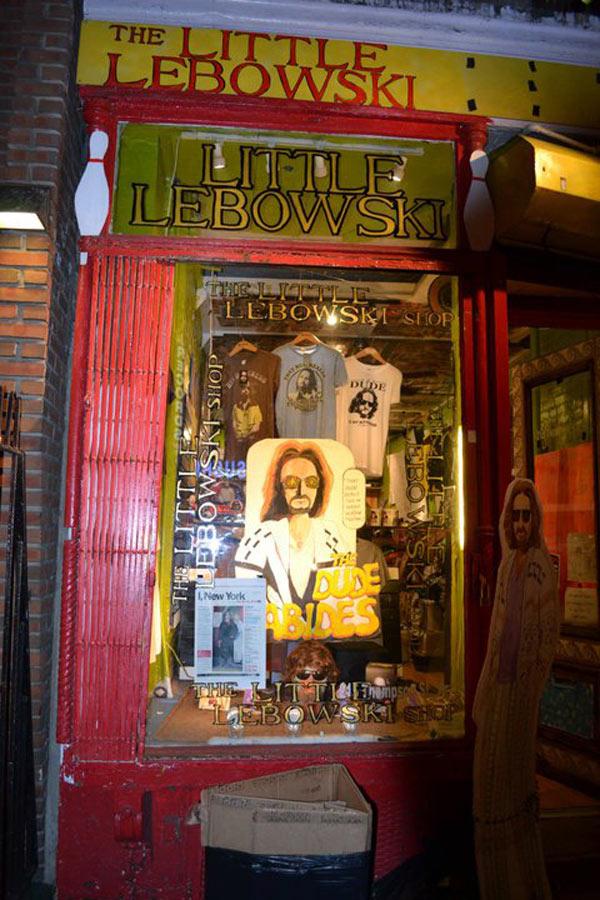 little lebowski store